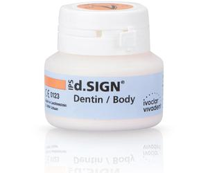 картинка IPS d.SIGN Dentin Chromascop дентин, цвет 110, банка 1x20г