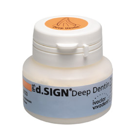 IPS d.SIGN Dentin A–D дентин, цвет D3, банка 1х20г