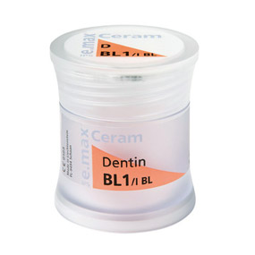 IPS e.max Ceram Bleach BL  (дентин) 1х20г, цвет BL1